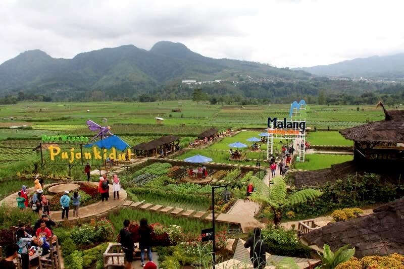 Mengunjungi Desa Wisata Pujon Kidul Ada Spot Foto Keren Lho Kade News